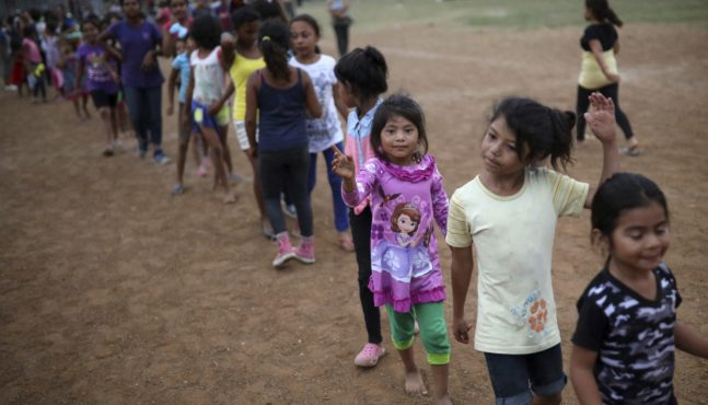 Illegals Entering U.S. With Trafficked Kids