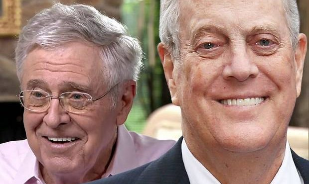 Koch brothers go (further) off the rails